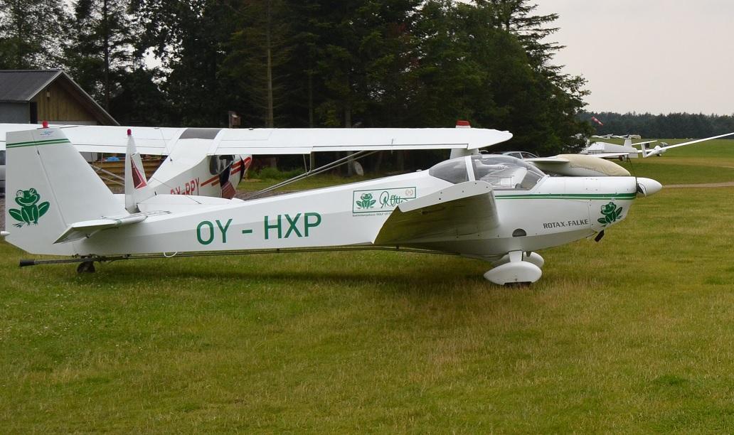Motorfalke: OY-HXP (Frøen)